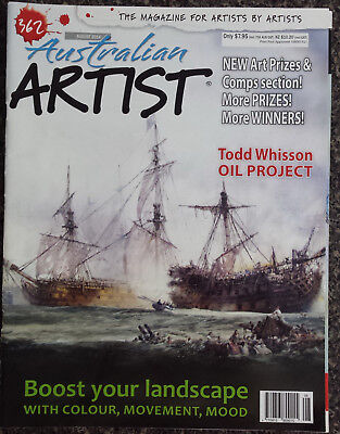 Australian Artist Magazine No.362 The Magazine for all Artists by Artists,