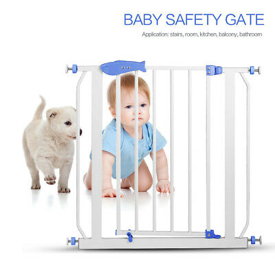 Munchkin Auto Close Pressure Mount Baby Gate for Stairs Hallways and Doors Metal