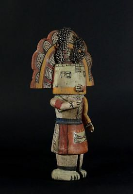Antique Kachina Puppet - HOPI DOLL - Native American - MOVABLE ARMS!