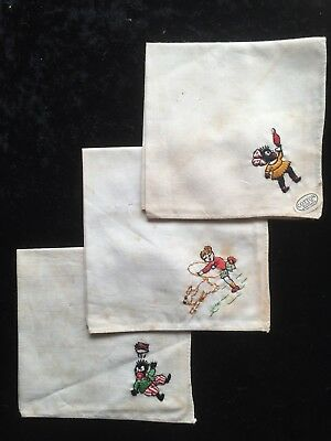 Vintage Irish cotton Handkerchiefs made in Northern Ireland