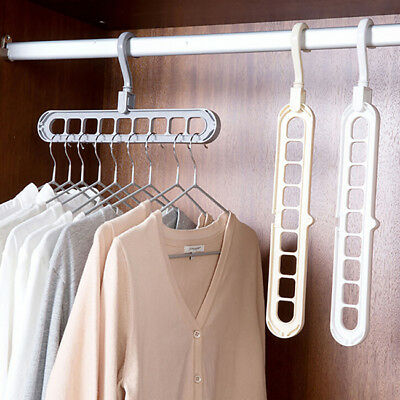 Multi-port Support Circle Clothes Hanger Clothing Drying Rack Multi-function BS