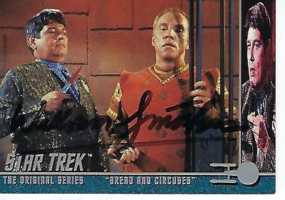 "William Smithers Signed 1998 :Star Trek"" Tos #132 - Bread & Circuses"