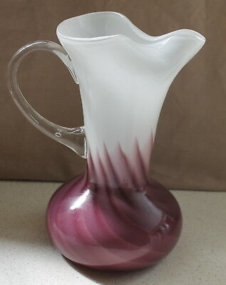 Mulberry & White Victoria Style Large Water Jug