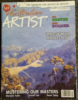 Australian Artist Magazine No.364 October 2014 Mustering our Masters