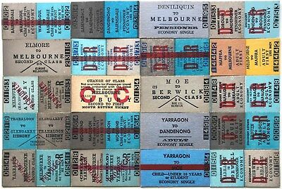 VR Tickets - 20 x mixed Country Issues (set 2)