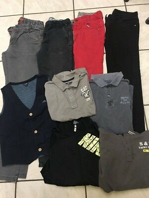 Lots Nike Okaidi Vetements Garcon Taille 12 Ans 9 Pieces Plusieurs Marques