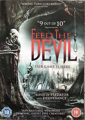 Feed the devil- NEW SEALED horror DVD- FREE POSTAGE & FULLY GUARANTEED