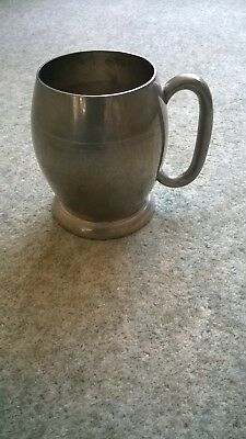 SILVER PLATED HARD SOLDERED -  CUP TANKARD Excellent