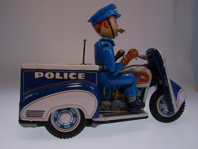 "GSMOTO *POLICE PATROL AUTO-TRICYCLE"" T.N.JAPAN 1960s,"