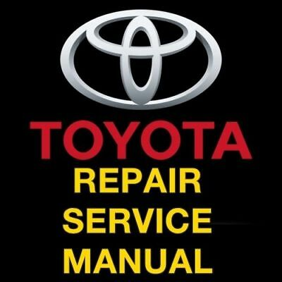Toyota 4Runner 2013 2014 2015 2016 2017 Repair Service Workshop Manual