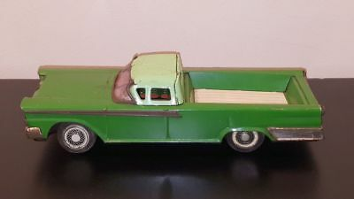 1959 FORD RANCHERO ~ Tin Friction Toy ~ No. 3216 Made by YONEZAWA in JAPAN