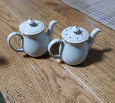 Denby Pottery Salt & Pepper Shakers