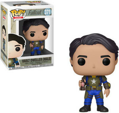Fallout - Vault Dweller Male - Funko Pop! Games: (2018, Toy NUEVO)