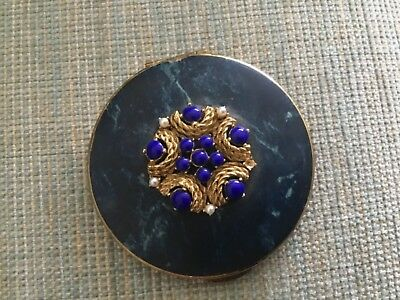 Pretty Vintage Ladies Powder Compact