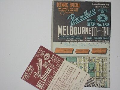 BROADBENTS OLYMPIC SPECIAL MELB TO and FRO  # 182