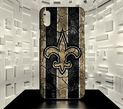 Custodia rigida per iPhone X New Orleans Saints NFL Team 06