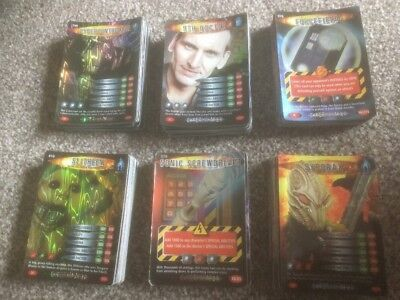 250+ Doctor Who - Battles in Time Trading Cards - VGC