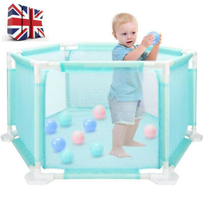Large Foldable Baby Kids Play Pen Playpen Room Divider Educational Toys Washable