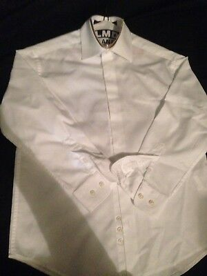Michael Kors 2 Boys Size 8 White Dress Suit Shirt lot