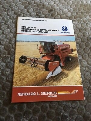 Prospectus Moissonneuse New Holland- Claas - Ih - Someca - Deutz