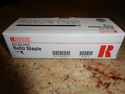 RICOH PPC REFILL STAPLE TYPE K - Brand New Pack of 3 Refills