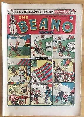 THE BEANO COMIC OCT 18th 1947 LORD SNOOTY PANSY POTTER FINE