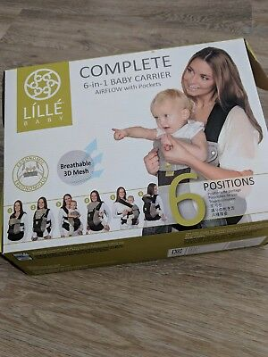Lillebaby airflow 6 in 1 baby carrier