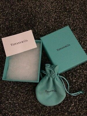 Tiffany & Co Box And Pouch Genuine
