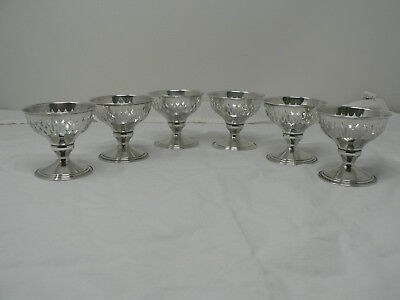 Vintage Pierced Sterling Silver Nut / Candy Bowls