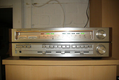 Toshiba SA-520 Stereo High End Vintage Old School Receiver mit Woodcase