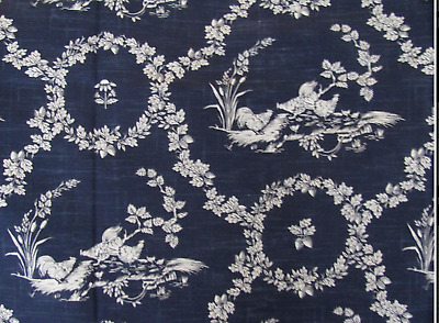 """RARE Pierre Deux """"Houdan"""" Toile French Country Fabric"""