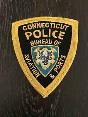 Bureau Of Aviation And Ports Ct Connecticut Police Department Officer Patch