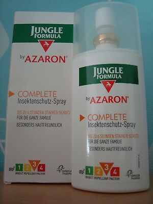 (5,32€/100ml) 75 ml Jungle Formular by Azaron Complete Insektenschutz-Spray