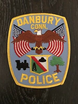 Danbury Ct Connecticut Police Department Officer Patch Current Issue