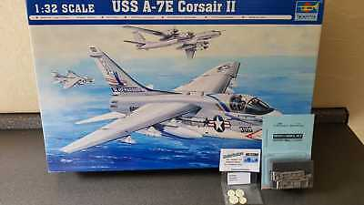 A-7E Corsair II 1:32 Trumpeter 02231 inc. Aires 2058 Master MST 32004