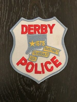 Derby Ct Connecticut Police Department Officer Patch Current Issue