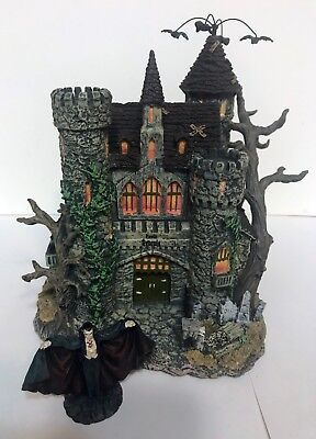 universal studios monsters halloween village collection count draculas castle