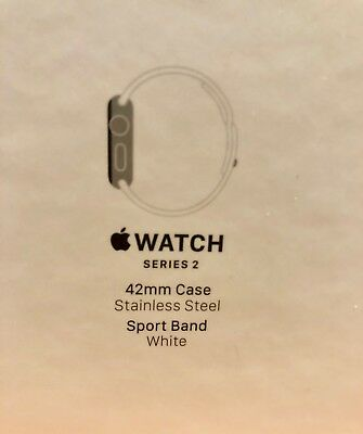 Apple Watch 42mm Case Stainless Steel BOX ONLY