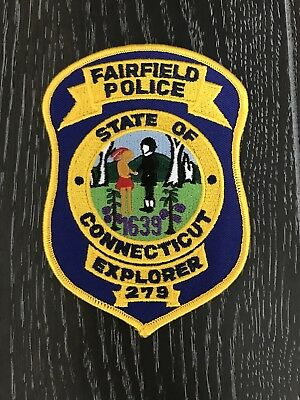 Fairfield Ct Connecticut Police Department Officer Patch Explorer Post 279