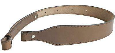 Leather Rifle Cobra Sling Vintage Brown Stitched Adjustable Strong Oiled Tanned