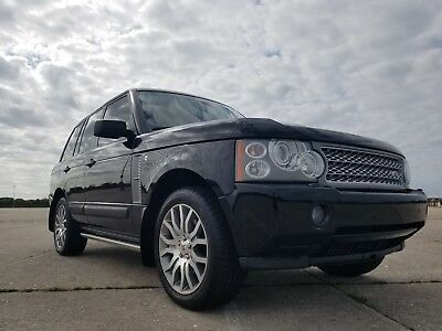 2009 Land Rover Range Rover AUTOBIOGRAPHY 2009 Land Rover Ranger Rover HSE Supercharged Autobiography Edition For Sale