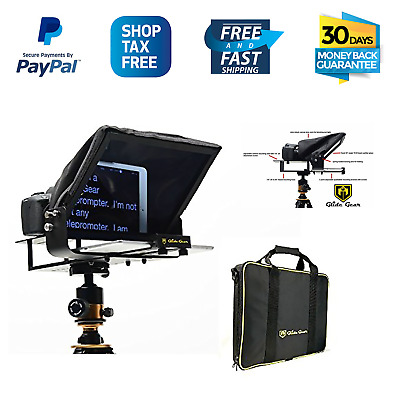 Glide Gear TMP 100 Tablet iPad Smartphone Video Camera Teleprompter 70/30 Glass