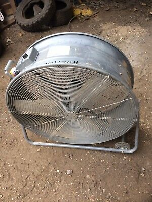 """110v 32"""" Fan Air Mover 2speed Large Big"""