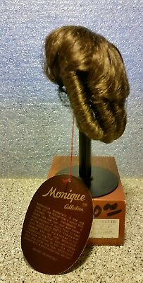 "Monique-New Old Stock Doll Wig- ""JEANETTE"" - 6/7"" Lt. Brown- Never Used"
