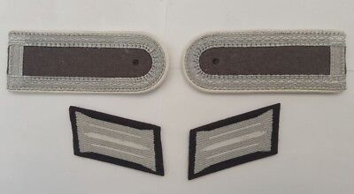 German Army NCO Infantry Shoulder Boards And Collar Patches.
