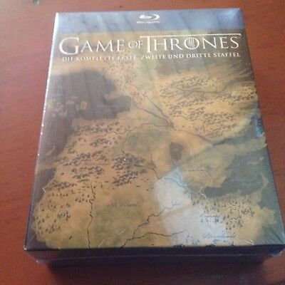 Blu Ray BD Game of Thrones Season Staffel 1 2 3 Collection OVP