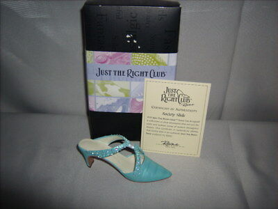Just The Right Shoe by Raine ©2000 Society Slide #25064 in Original Box