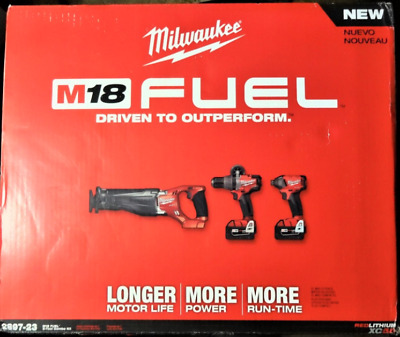 Milwaukee 2897‑23 Fuel M18 Hammer Drill Impact Driver brand new factory sealed