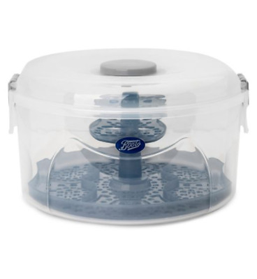 Boots Baby 2-in-1 Combination Steriliser Cold Water Microwave BPA-free NEW