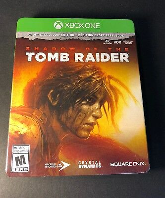 Shadow of the Tomb Raider [ CROFT STEELBOOK Edition ] (XBOX ONE) NEW